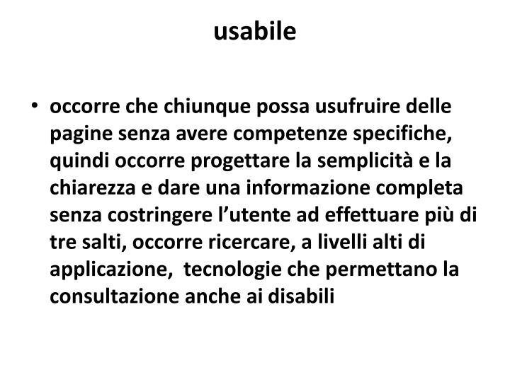 usabile