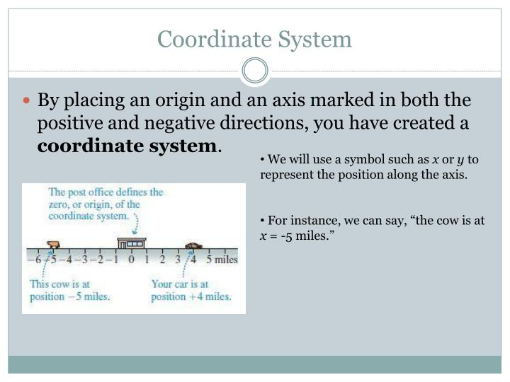Coordinate System
