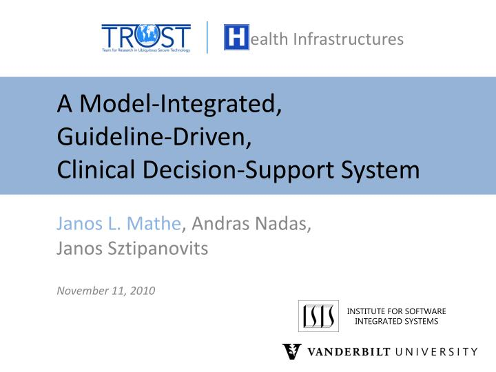 a model integrated guideline driven clinical decision support system n.