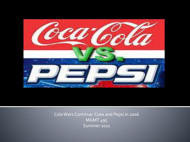 the cola wars continue coke and