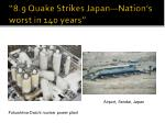 8 9 quake strikes japan nation s worst in 140 years