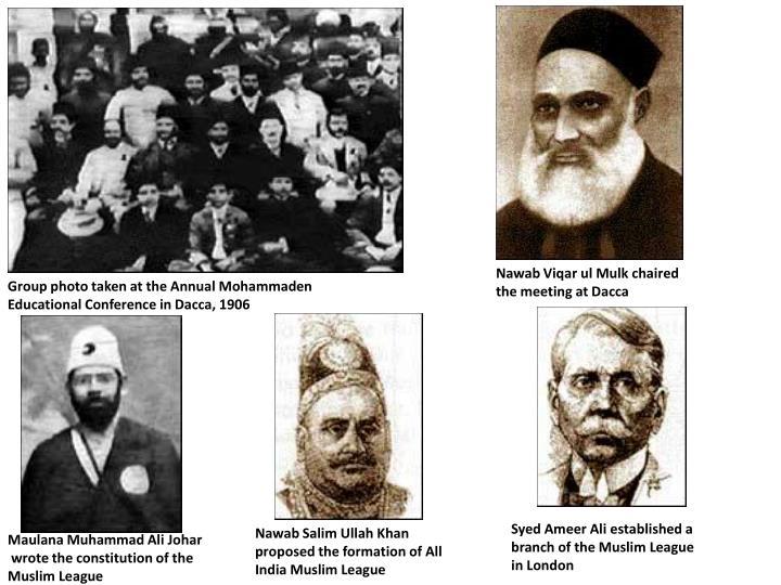 when was muslim league formed