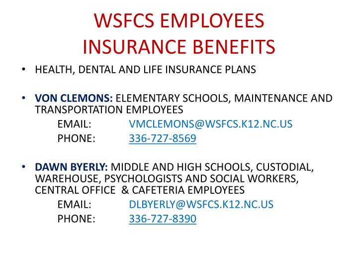 WSFCS EMPLOYEES