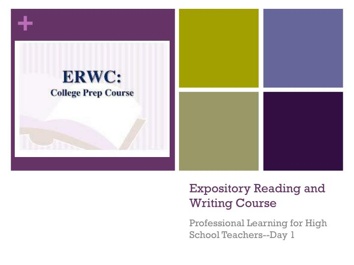 expository reading and writing course n.