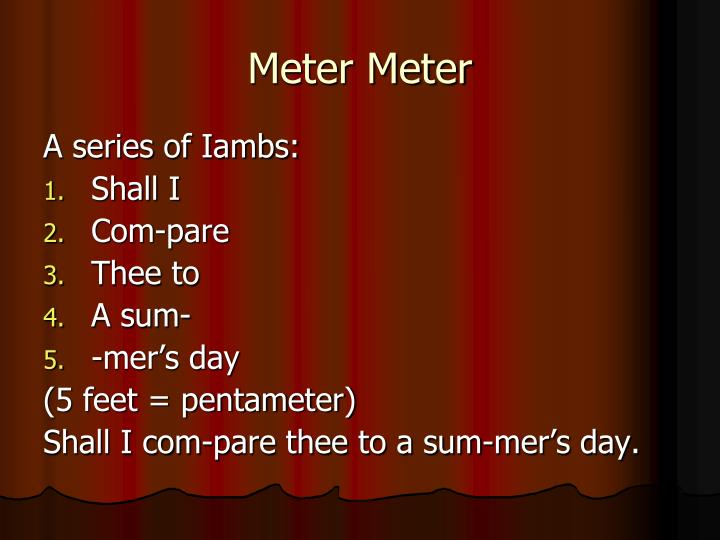 Meter Meter