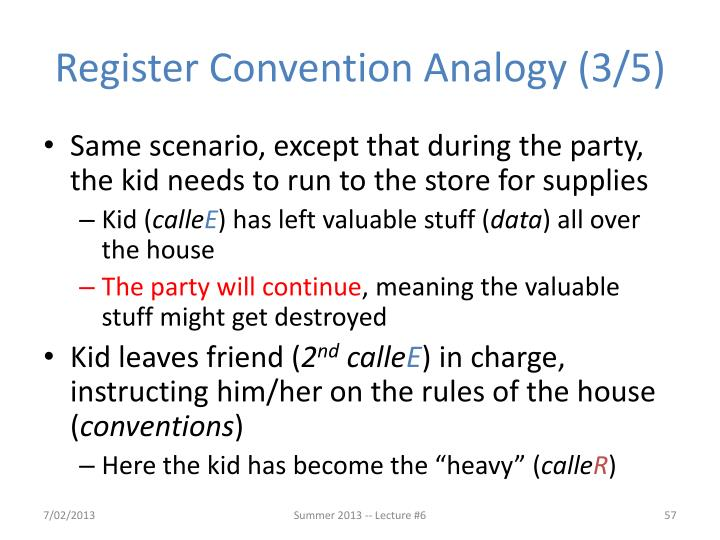 Register Convention Analogy (3/5)