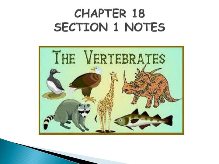 chapter 18 section 1 notes n.