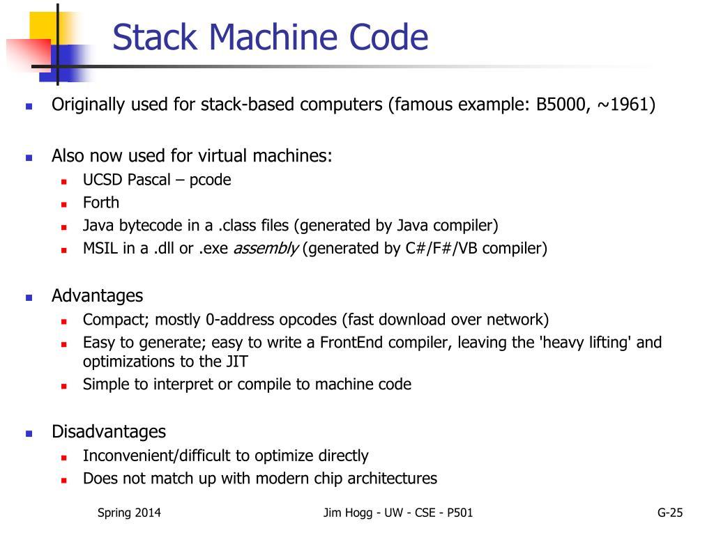 PPT - CSE P501 – Compiler Construction PowerPoint Presentation - ID