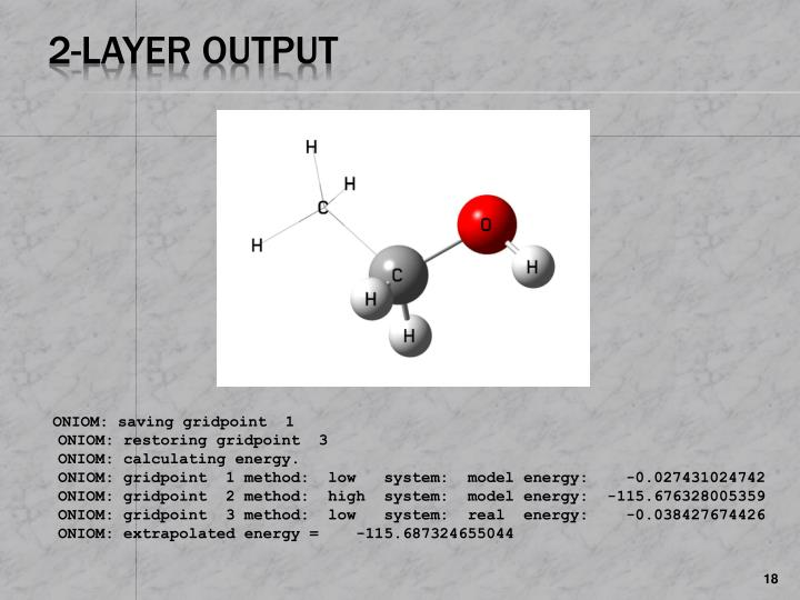 2-Layer Output