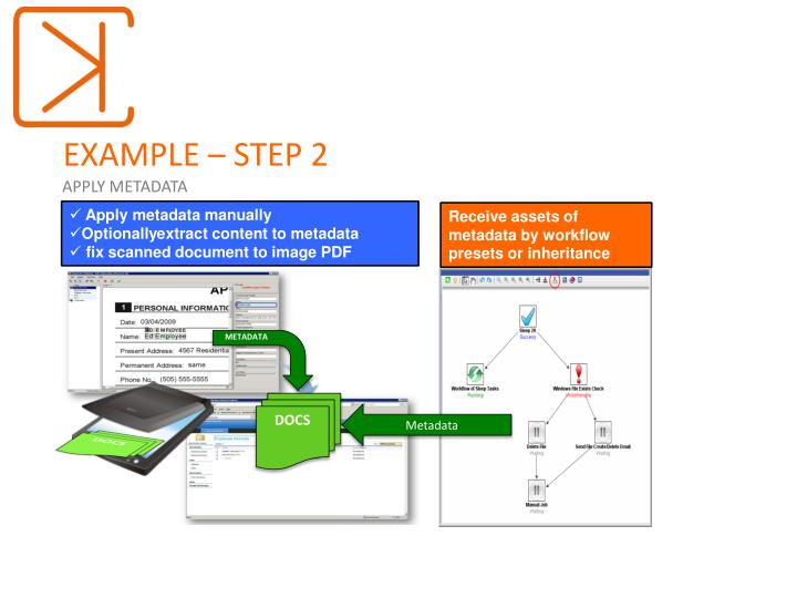 EXAMPLE – STEP 2