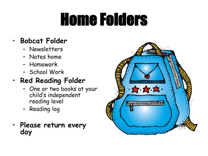 Home Folders