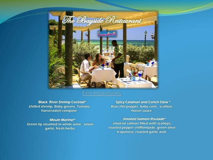 The Bayside Restaurant