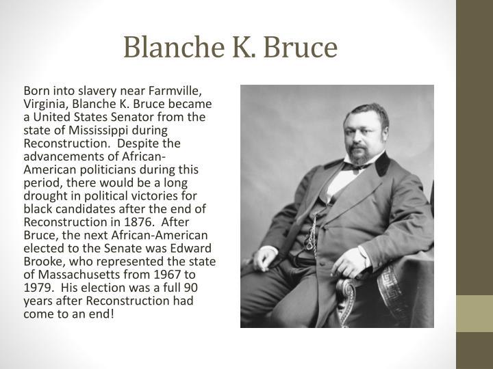 Blanche K. Bruce