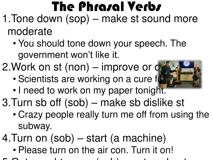 The Phrasal Verbs