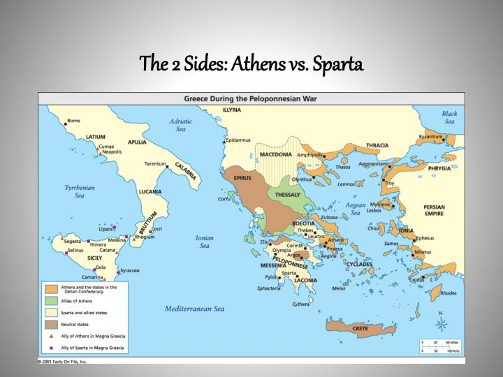The 2 Sides: Athens vs. Sparta