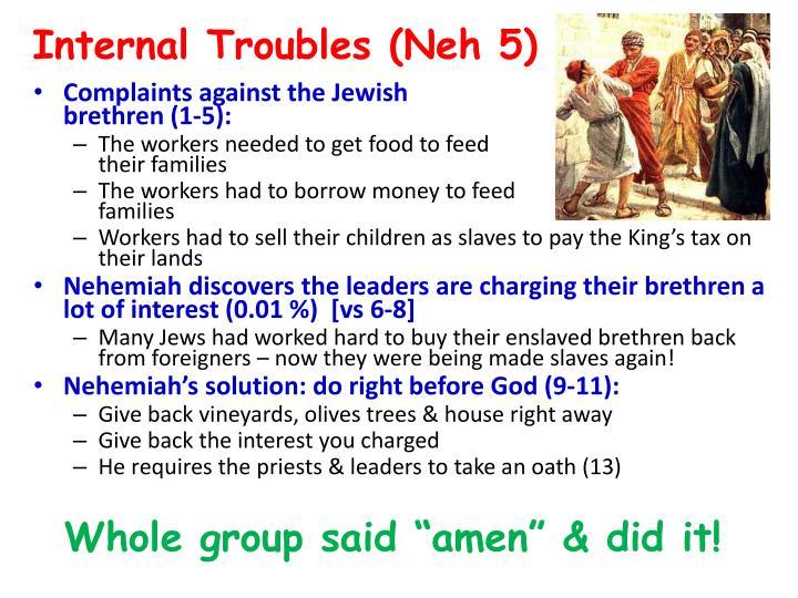 Internal Troubles (