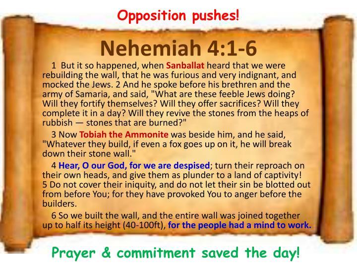 Nehemiah 4 1 6