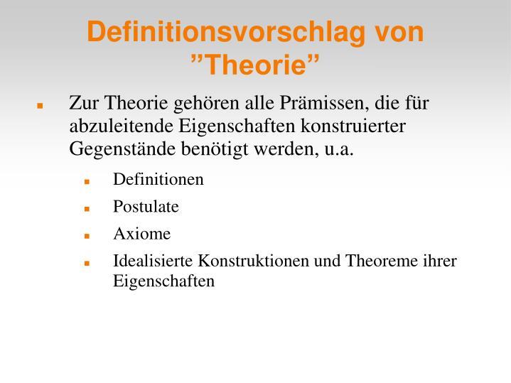 Definitionsvorschlag