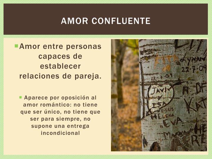 Amor confluente