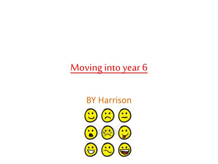 moving into year 6 n.
