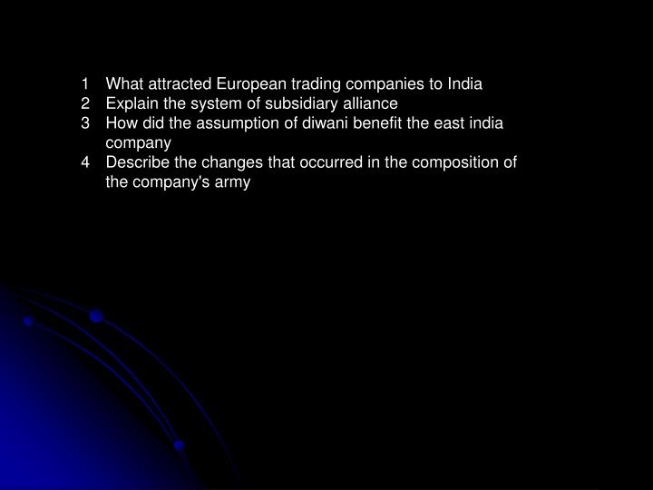 What attracted European trading companies to India