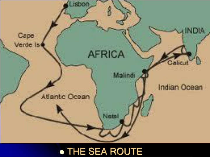 THE SEA ROUTE