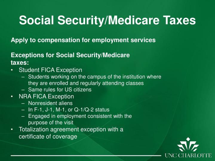 Social Security/Medicare Taxes
