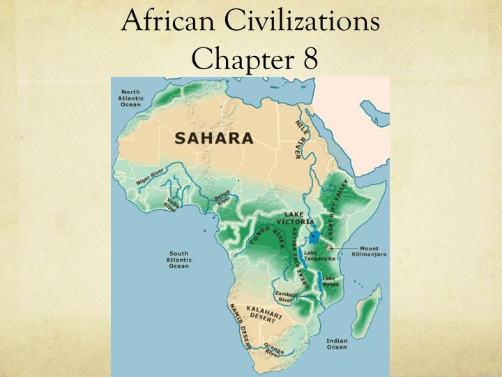 african civilizations chapter 8 n.