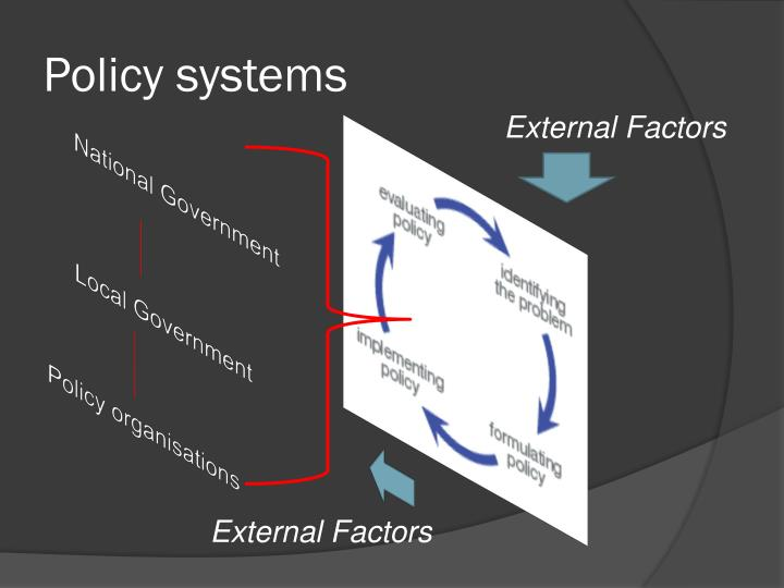 Policy systems