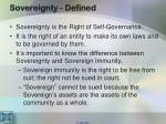 sovereignty defined