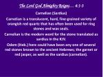 the lord god almighty reigns 4 1 32