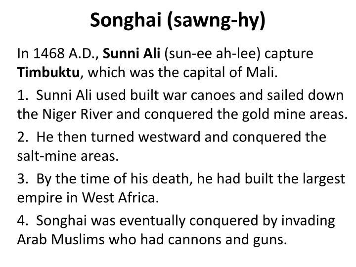 Songhai (