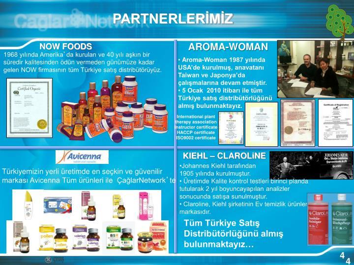PARTNERLERİMİZ