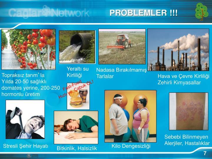 PROBLEMLER !!!