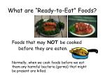 what are ready to eat foods