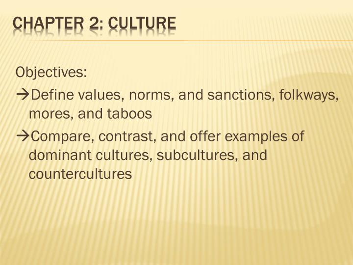 Ppt Chapter 2 Culture Powerpoint Presentation Id2373724