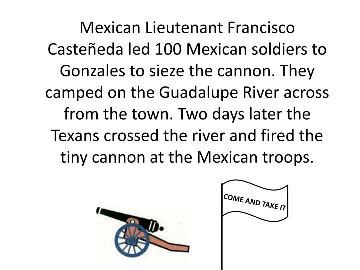 Mexican Lieutenant Francisco