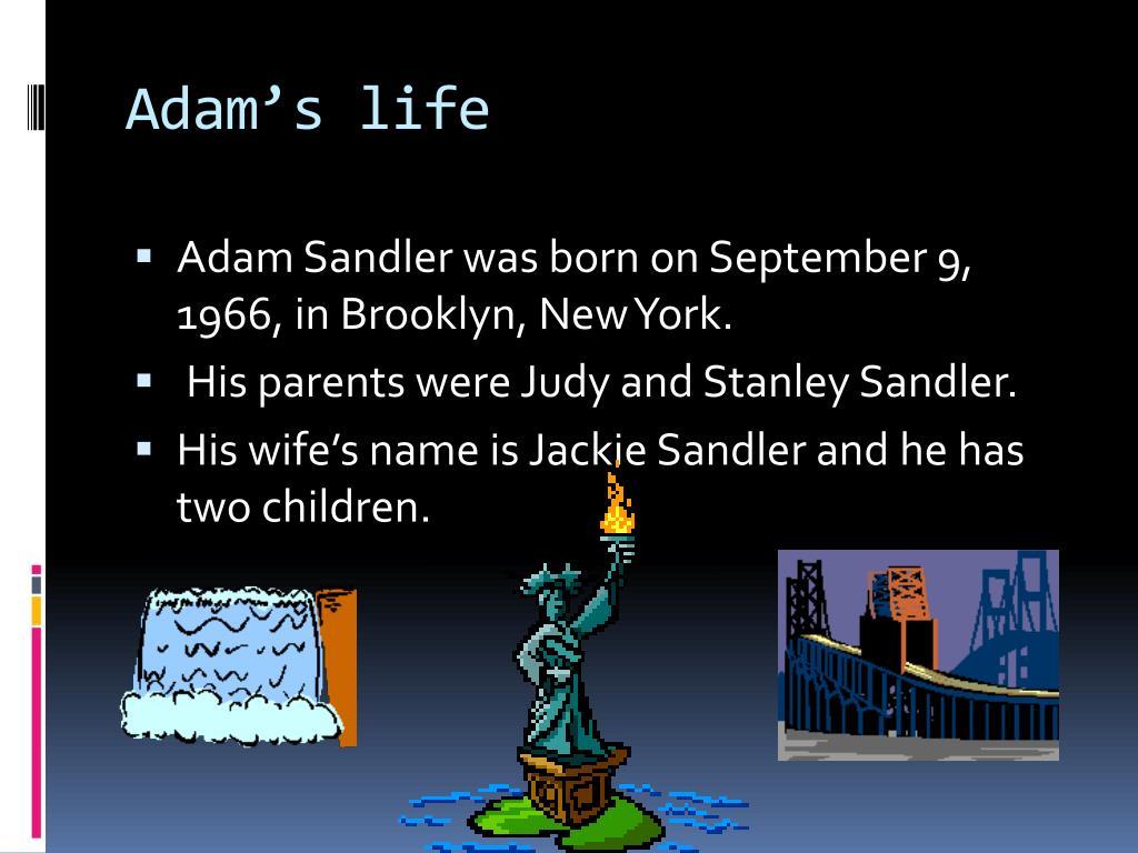 PPT - Adam Sandler PowerPoint Presentation - ID:2374345