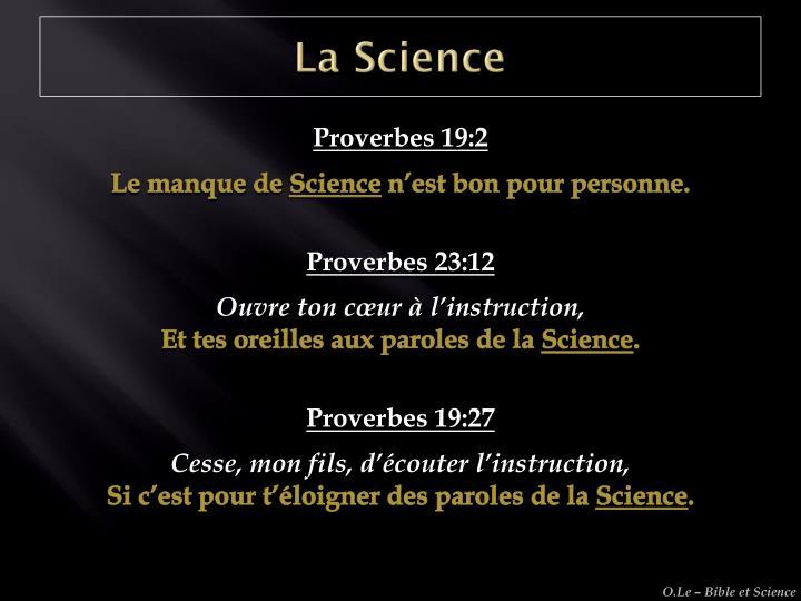 La Science