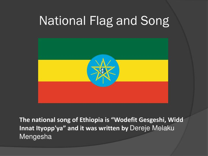 National Flag and Song