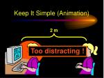 keep it simple animation