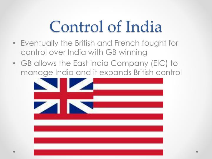 tighter british control In the 1760s, great britain began tightening controls over its american colonies in the wake of the seven years war, often referred to as the french and indian war british victory gave them more land in north america but it also left them with more debt to collect from the colonies in the form of.