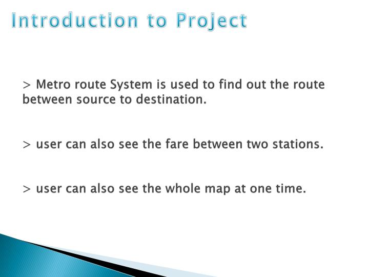 Introduction to Project