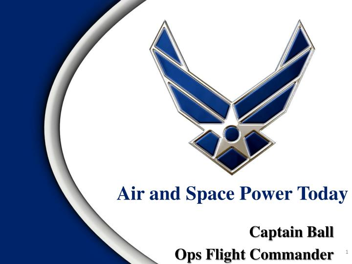 air and space power today n.