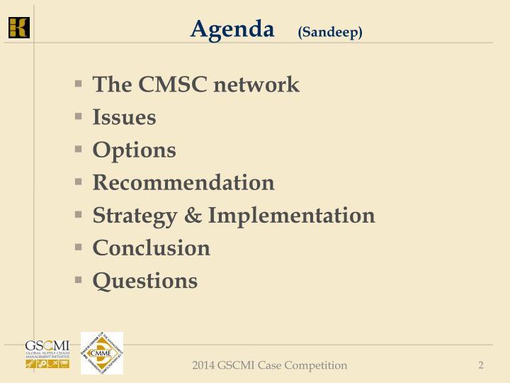 Agenda sandeep