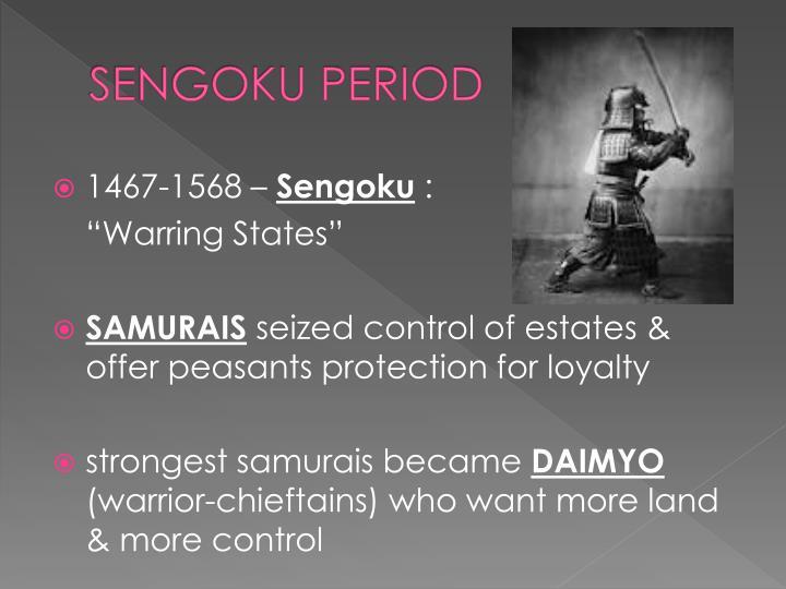 Sengoku period