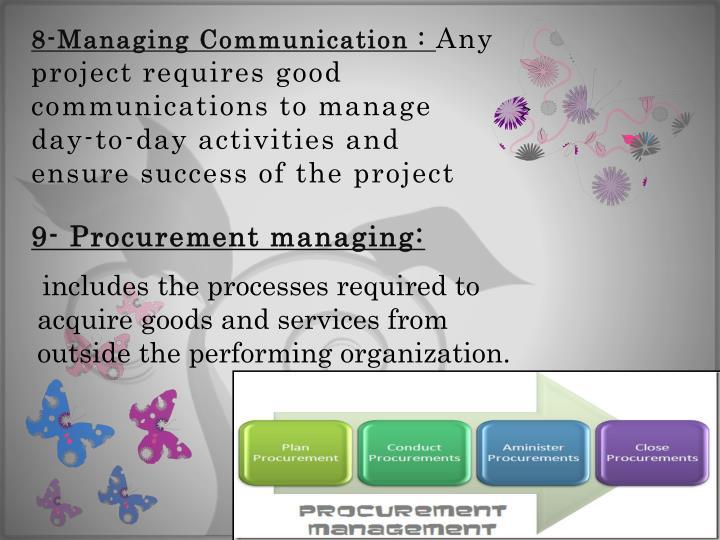 8-Managing Communication :