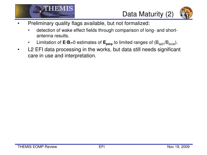 Data Maturity (2)