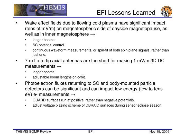 EFI Lessons Learned