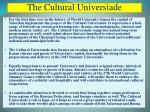 the cultural universiade